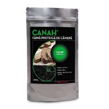 Faina proteica de canepa 300g Canah