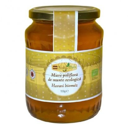 Miere ecologica poliflora de munte 950g Szasz Ilyes