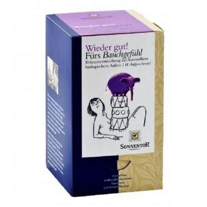 Ceai ecologic Toate-s bune Calmeaza-ti stomacul 18 pliculete Sonnentor