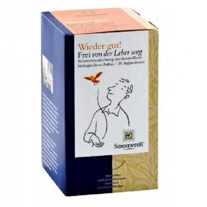 Ceai ecologic Toate-s bune Elibereaza-ti ficatul 18 pliculete Sonnentor
