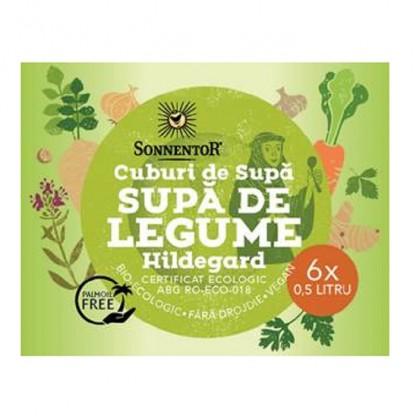 Cub supa de legume Hildegard bio 6*60g Sonnentor