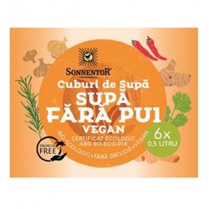Cub supa Fara pui (picant) bio Vegan 6*60g Sonnentor