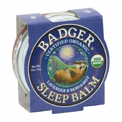 Mini balsam pentru un somn linistit Sleep Balm 21g Badger Organic