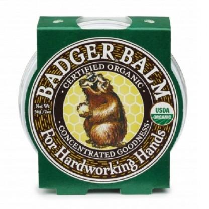 Balsam pentru maini crapate si muncite Hardworking Hands 56g Badger Organic