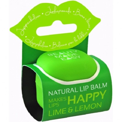 Balsam natural de buze cu lime si lamaie 7g Beauty Made Easy