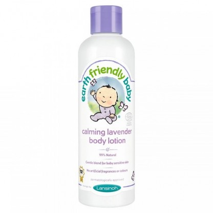 Crema de corp hidratanta cu levantica BIO 250ml Earth Friendly Baby