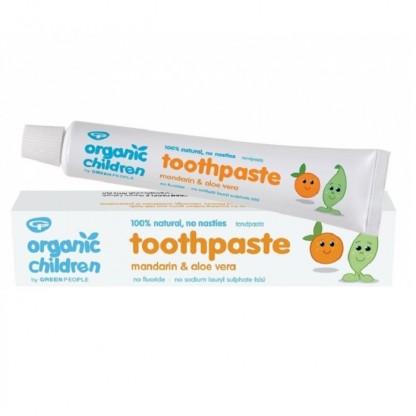 Pasta de dinti cu mandarina pt bebelusi / copii (homeopata) 50ml Green People