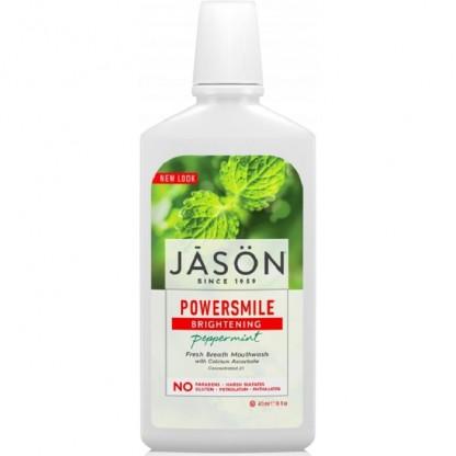 Apa de gura pt albire si respiratie proaspata Power Smile 473ml Jason