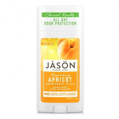 Deodorant natural stick cu caise 75g Jason Natural