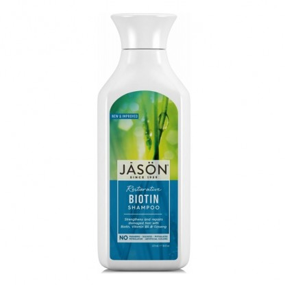 Sampon cu biotina pt intarire fire despicate 473ml Jason