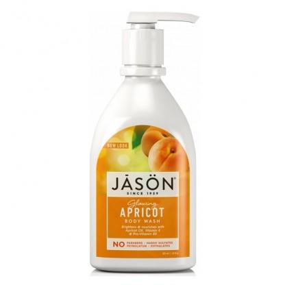 Gel de dus hidratant cu caise 900ml Jason