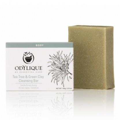 Sapun cu tea tree si argila verde 100g Odylique