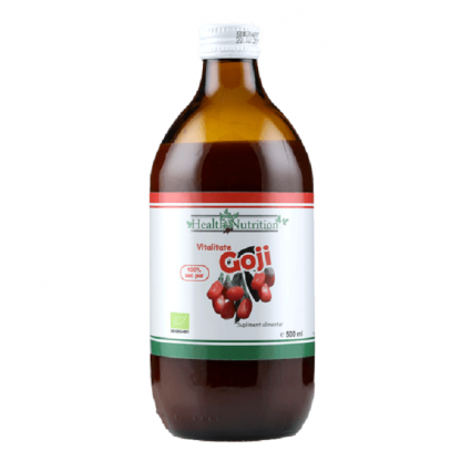 Suc de goji pur BIO 500ml Health Nutrition