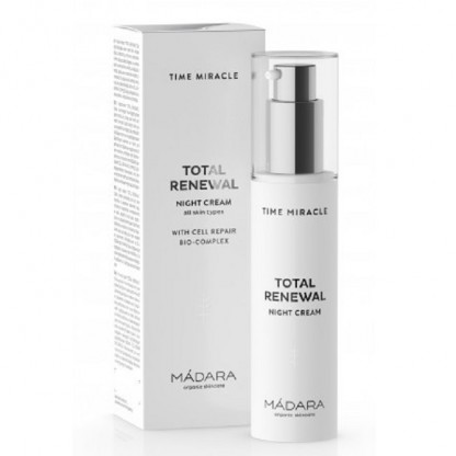 Time Miracle Crema de noapte antirid TOTAL RENEWAL 50ml Madara