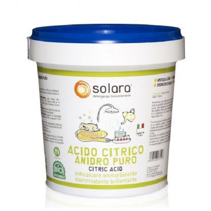 Acid citric praf 750 g Solara Eco BIO