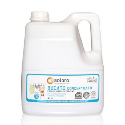 Detergent lichid BIO rufe super concentrat 4 Litri Solara ECO BIO