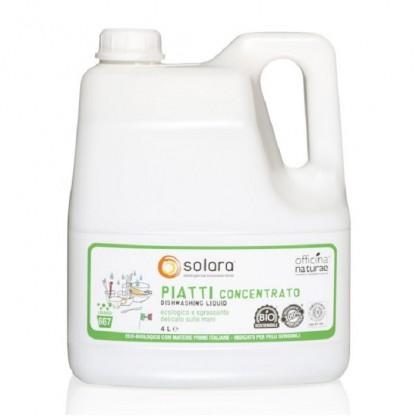 Detergent lichid vase super concentrat 4 litri Solara Eco BIO
