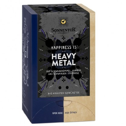 Ceai BIO Happiness is… Heavy Metal 18 pliculete Sonnentor