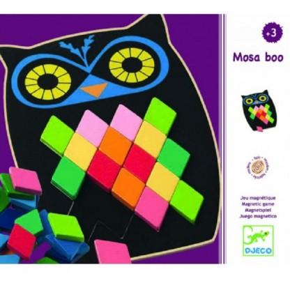 Puzzle mozaic Bufniță Djeco, de la 3 ani