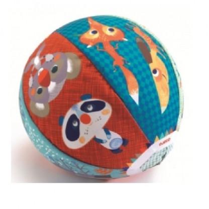 Husa textila Djeco Animale, de la 2 ani