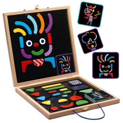 Geobonhomme joc cu magneţi Djeco, de la 4 ani