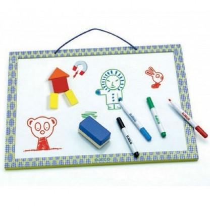 Tabla magnetica (whiteboard) Djeco, de la 3 ani