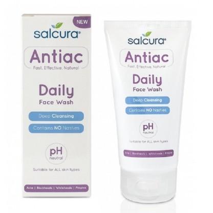Gel de curatare pt tenul cu acnee, cosuri, puncte albe sau negre 150ml Salcura