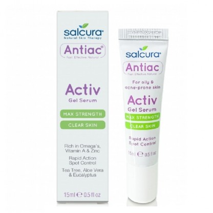 Gel tratament acnee si pete pigmentate 15ml Salcura