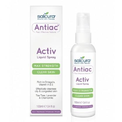 Spray pt curatarea pielii congestionate cu acnee 100 ml Salcura