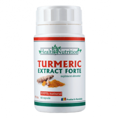 Turmeric extract forte 60 capsule Health Nutrition