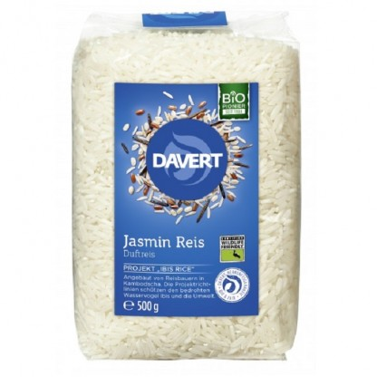 Orez Jasmin alb BIO Wildlife Friendly 500g Davert