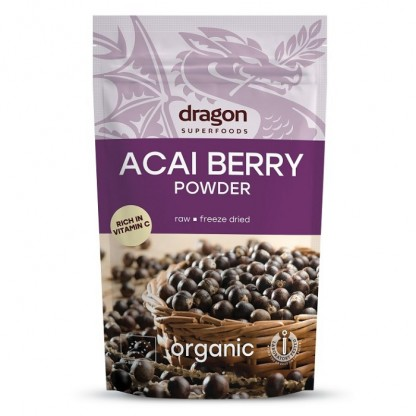 Acai pulbere raw BIO 75g Dragon Superfood