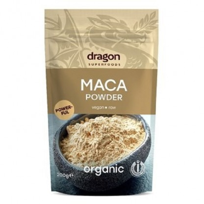 Maca pulbere raw BIO 200g Dragon Superfood