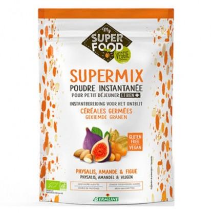 Supermix pentru micul dejun cu incan berry, migdale si smochine BIO 350g Germline