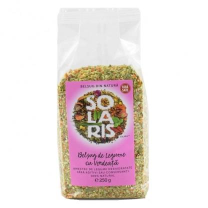 Belsug de legume cu verdeata – fara sare 250g Solaris