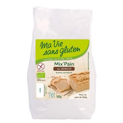 Amestec pentru paine cu hrisca fara gluten 500g Ma vie sans Gluten