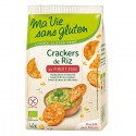 Crackers din orez cu ardei dulce, fara gluten 40g Ma vie sans Gluten