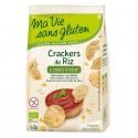 Crackers din orez cu ulei de masline, fara gluten 40g Ma vie sans Gluten