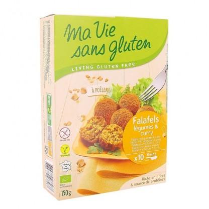 Falafel cu legume si curry, fara gluten 150g Ma vie sans Gluten