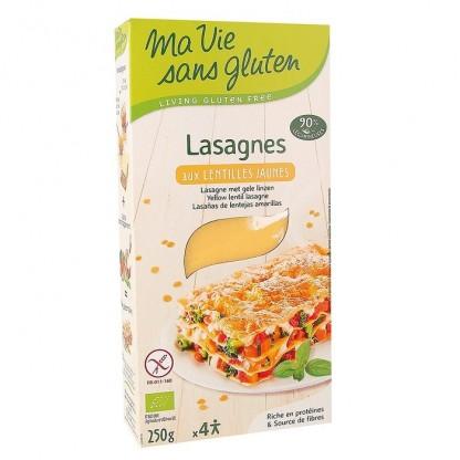 Lasagna din linte galbena, fara gluten 250g Ma vie sans Gluten