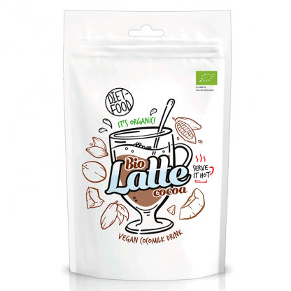 Cacao Latte BIO Vegan 200g Diet Food