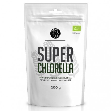 Chlorella pulbere BIO 200g Diet Food