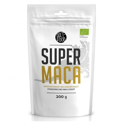 Maca pulbere BIO 200g Diet Food