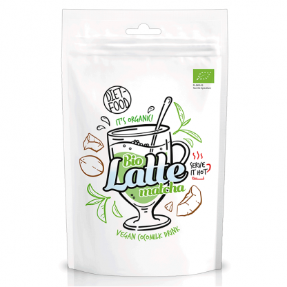 Matcha Latte BIO vegan 200g Diet Food