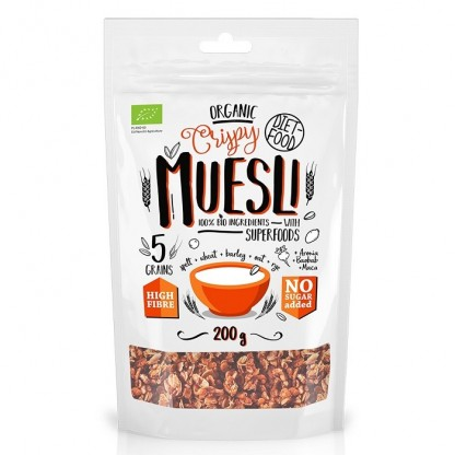 Musli BIO cu superalimente 200g Diet Food