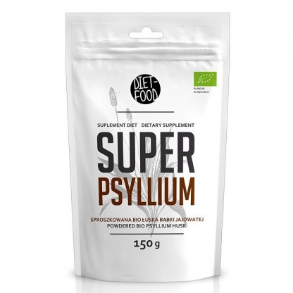 Tarate de psyllium pulbere BIO 150g Diet Food