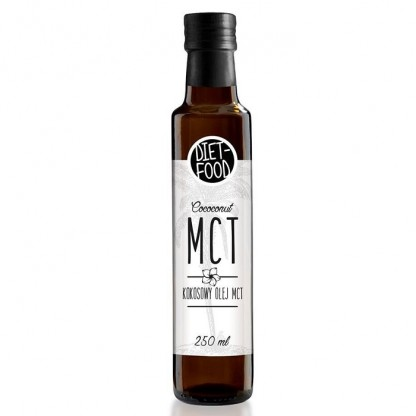 Ulei de cocos MCT 250ml Diet Food