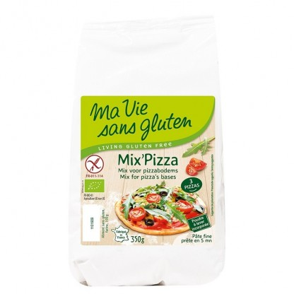 Amestec pentru pizza, fara gluten 350g Ma vie sans Gluten