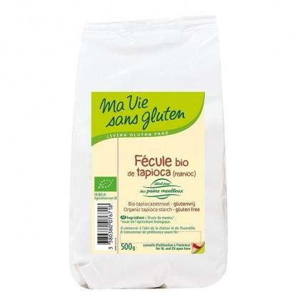 Amidon de tapioca BIO fara gluten 500g Ma vie sans Gluten