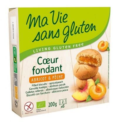 Biscuiti fara gluten cu crema de caise 200g Ma vie sans Gluten